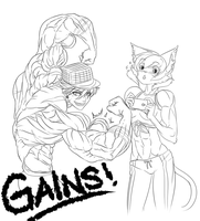 All Kinds of Gains by NewberryChucks