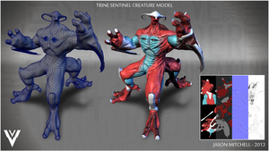 The Memento Project: The Trine Sentinel by VexusVersion