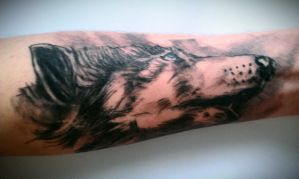 Wolf sleeve by Ez0rus