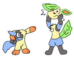 Swapping Parts by VulpineKeyblader