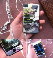 iPod Touch DJ Skin by paperplane-products