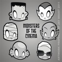 Heads Up Monsters of Cinema by HeadsUpStudios