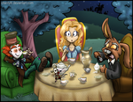 Alice in Wonderland by MyFantasyZone
