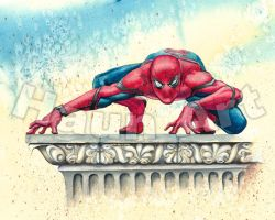 SPIDER-MAN JOHN HAUN SKETCH by JohnHaunLE