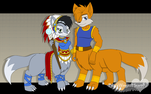 Lupe and Lobo by BlackWingedHeart87