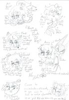 OCs you can talk or RP with  by Kittychan2005