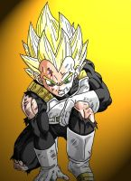 Vegeta - down but not out by Matthew25892