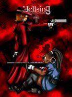 Total Hellsing Action by drago-flame