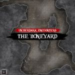 DnD Out of the Abyss Terrain Encounter Boneyard by Durinthiam