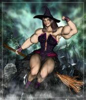 Witch Lin by Stone by vince3