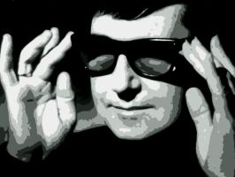 Roy Orbison Paint By Number Art Kit by numberedart