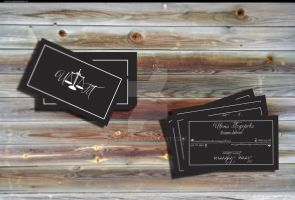 Business Card Ivona by KalinB