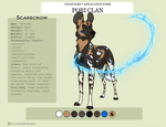[Un-Divided] Scarecrow Character Sheet_Pori Clan by faithandfreedom