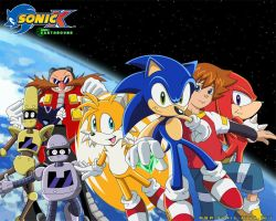 Sonic X Wallpaper :FINISHED: by DarkNoise-Studios