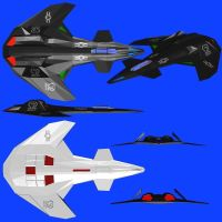 Omega 7 Sigma--Fighter Craft by Roguewing