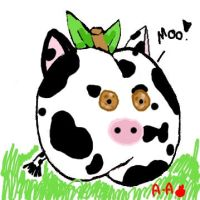 Cow apple by apples-art