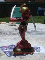 Skylanders-Custom Deadpool Ninjini For Sale by KrazyKari
