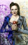 Evil queen/Regina by skepticmeek