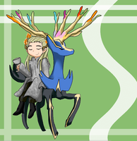 The Hobbit / Pokemon - Elvenking Thranduil by ValiChan