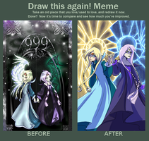 Draw this again meme by Warlord-of-Noodles