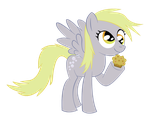 Derpy Hooves .::Open Eyes::. by KairuOkami