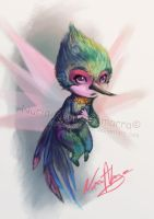 Mini Tooth fairy - Rise of the Guardians by nuriaabajo