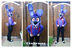FNaF Bonnie Cosplay by CowSprite
