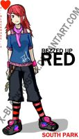 REZZED UP RED. by x--blackrose--x