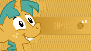 Wallpaper - Snails by Hubert205