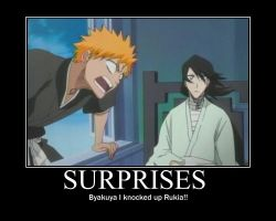 Surprises Motivational Poster by NaruSakon