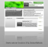 OZv3 Web design by Zeickan