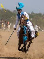 Tent Pegging - 11 by InayatShah