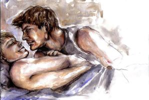 Brian and Justin- QAF by straysod