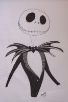 Jack Skellington by aamandapalmer