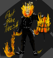 Ghost Rider Thresh Skin by Mikkynga