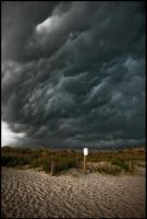 Beach Storm by Misher