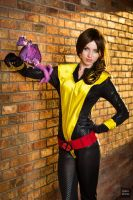 Shadowcat and Lockheed by MeganCoffey