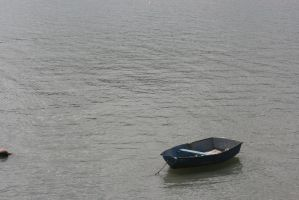 Boat on the water by Mortitia212