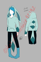 Gijinka Glaceon Cosplay Design by Illogicat