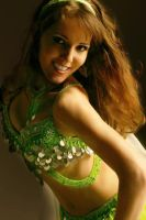 green belly dancer by Joystick74