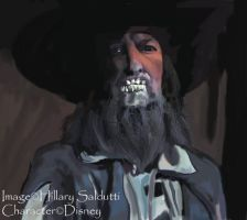 Captian Barbossa the black by dalmuln