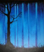 Ghostly Trees by Izile
