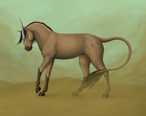 Admin's Mythical horses Stallion_of_the_Sands_by_skippy232