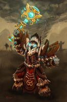 Archdruid Hamlet: Druid Trainer by fenrysk-art