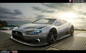 Mitsubishi rEvolution Concept by ZHtuning