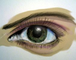 Colored Eye by Tophoid