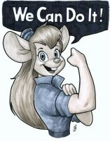 We Can Do It! by BigChrisGallery
