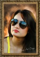 Cinta Laura Style SMUDGE PAINTING by BamsDeviantART