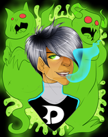Danny Phantom Headshot by HolyGuardians