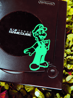 Year of Luigi-Classic Luigi Decal by TeslaLollipop